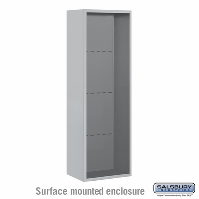 Salsbury 3811S Surface Mount Enclosure For 3711S 4C Mailboxes