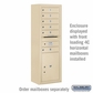 Salsbury Surface Mounted Enclosure for 3713 Single Column Unit - Sandstone