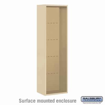 Salsbury Surface Mounted Enclosure for 3715 Single Column Unit - Sandstone