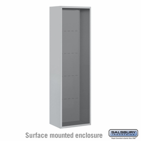 Salsbury 3816S Surface Mount Enclosure For 3716S 4C Mailboxes