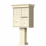 8 Door Classic Decorative CBU Mailboxes