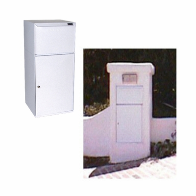 Secure Collection Unit (with tote) - White