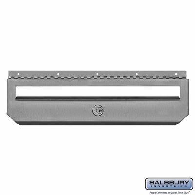 Salsbury 4511 Horizontal Style Stainless Steel Mailbox Security Kit Option