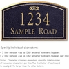 Salsbury 1422BGFS Signature Series Address Plaque