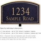 Salsbury 1422BGNL Signature Series Address Plaque