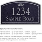 Salsbury 1422BSFS Signature Series Address Plaque