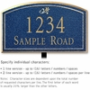 Salsbury 1422CGDL Signature Series Address Plaque