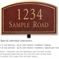 Salsbury 1422MGNL Signature Series Address Plaque