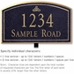 Salsbury 1421BGIL Signature Series Address Plaque