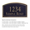 Salsbury 1420BGNS Signature Series Address Plaque