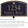 Salsbury 1420BGSL Signature Series Address Plaque