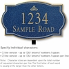 Salsbury 1441CGIL Signature Series Address Plaque