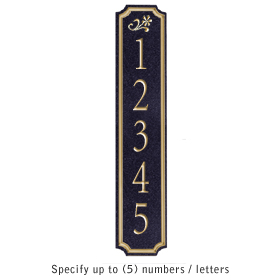 Salsbury 1470BGDS Signature Series Address Plaque