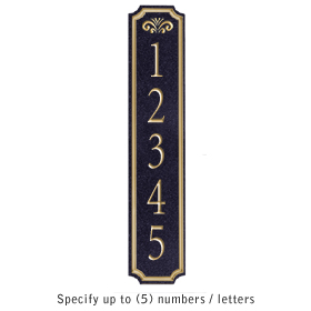 Salsbury 1470BGFS Signature Series Address Plaque