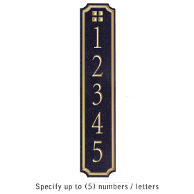 Salsbury 1470BGGS Signature Series Address Plaque