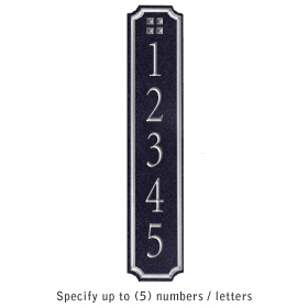 Salsbury 1470BSGS Signature Series Address Plaque