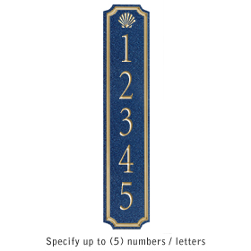 Salsbury 1470CGSS Signature Series Address Plaque