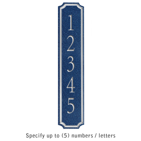 Salsbury 1470CSNS Signature Series Address Plaque