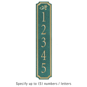 Salsbury 1470JGDS Signature Series Address Plaque