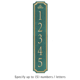 Salsbury 1470JGIS Signature Series Address Plaque