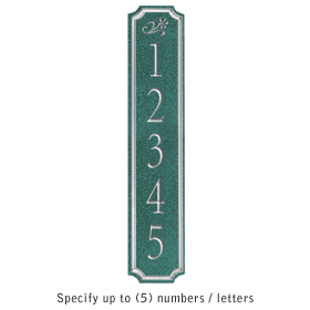 Salsbury 1470JSDS Signature Series Address Plaque