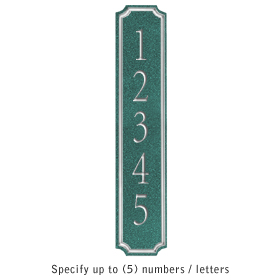 Salsbury 1470JSNS Signature Series Address Plaque