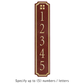 Salsbury 1470MGGS Signature Series Address Plaque