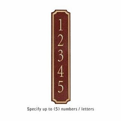Salsbury 1470MGNS Signature Series Address Plaque