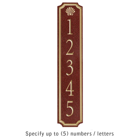 Salsbury 1470MGSS Signature Series Address Plaque