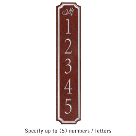 Salsbury 1470MSDS Signature Series Address Plaque