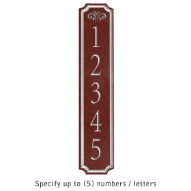 Salsbury 1470MSFS Signature Series Address Plaque