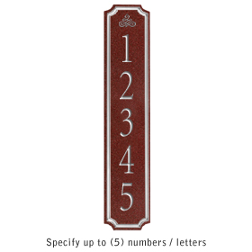 Salsbury 1470MSIS Signature Series Address Plaque