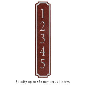 Salsbury 1470MSNS Signature Series Address Plaque