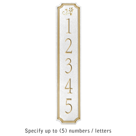 Salsbury 1470WGDS Signature Series Address Plaque