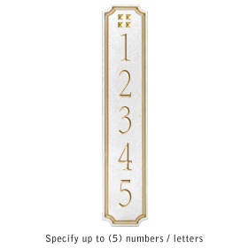 Salsbury 1470WGGS Signature Series Address Plaque