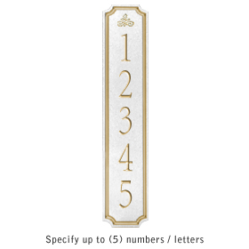 Salsbury 1470WGIS Signature Series Address Plaque
