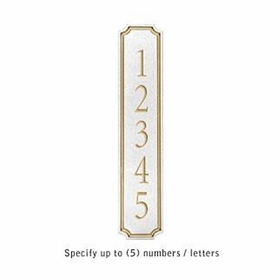 Salsbury 1470WGNS Signature Series Address Plaque