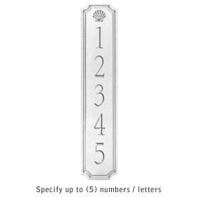 Salsbury 1470WSSS Signature Series Address Plaque