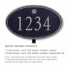 Salsbury 1432BSSL Signature Series Address Plaque