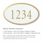 Salsbury 1432WGNS Signature Series Address Plaque