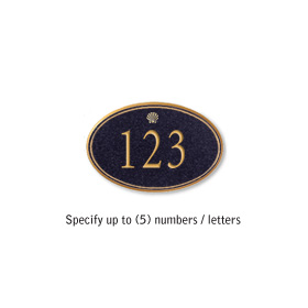 Salsbury 1439BGSS Signature Series Address Plaque
