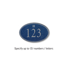 Salsbury 1439CSGS Signature Series Address Plaque