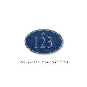 Salsbury 1439CSIS Signature Series Address Plaque
