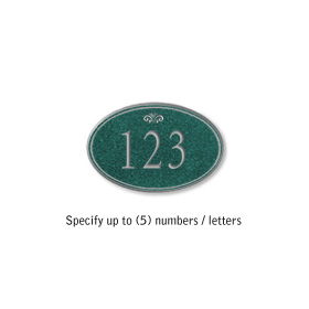 Salsbury 1439JSFS Signature Series Address Plaque