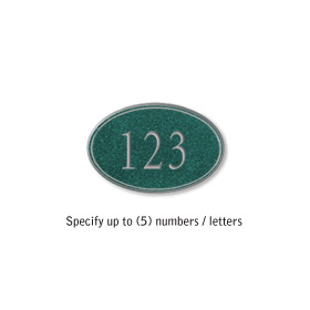 Salsbury 1439JSNS Signature Series Address Plaque