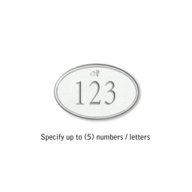 Salsbury 1439WSDS Signature Series Address Plaque