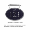 Salsbury 1435BSDH Signature Series Address Plaque