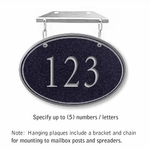 Signature Series Plaques - Oval Small