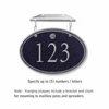 Salsbury 1435BSSH Signature Series Address Plaque