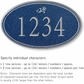 Salsbury 1430CSDS Signature Series Address Plaque